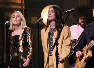 Vampire weekend haim show Jimmy Fallon Father of the Bride