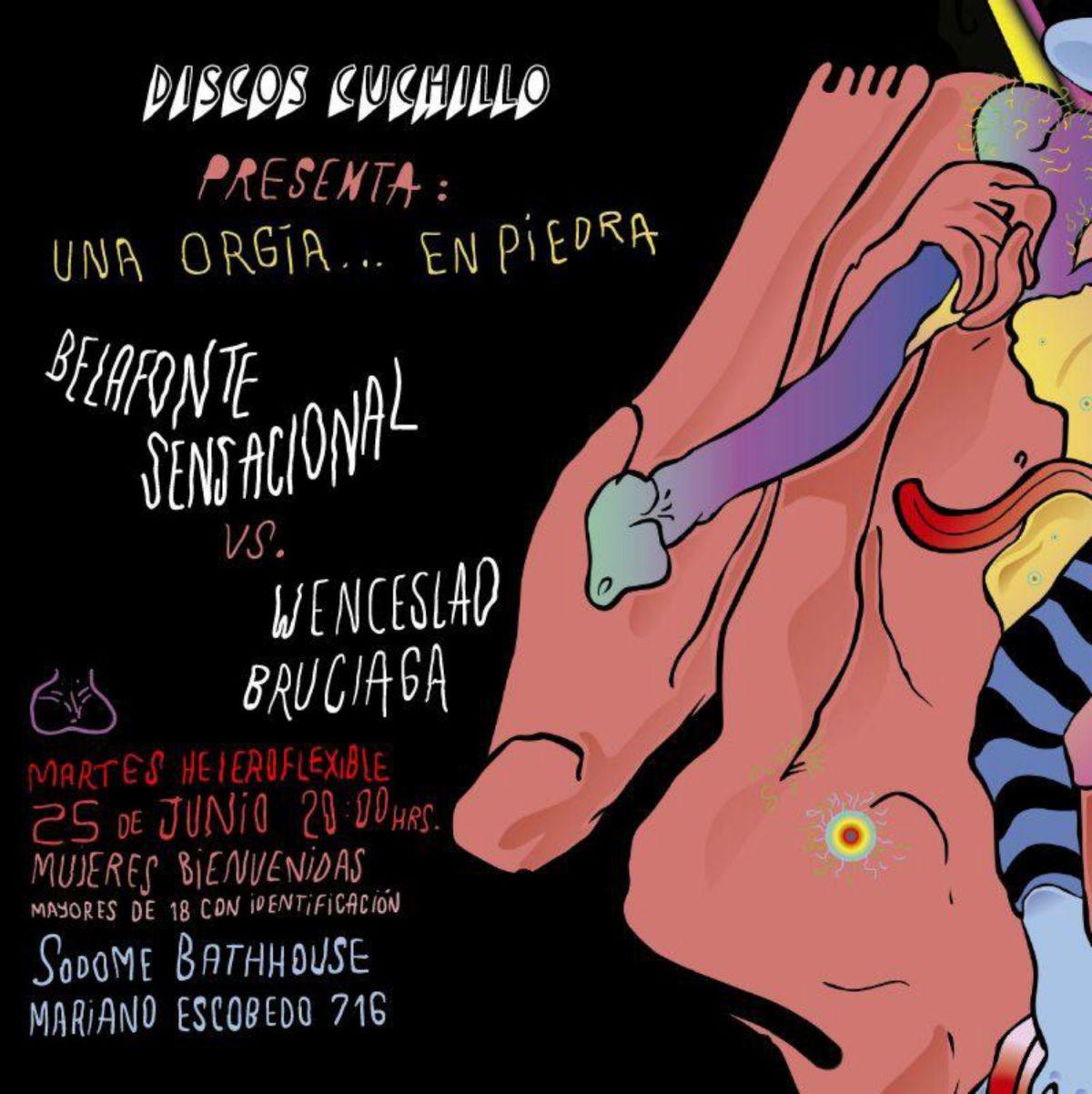 Belafonte Sensacional Wenceslao Bruciaga concierto CDMX 25 JUNIO
