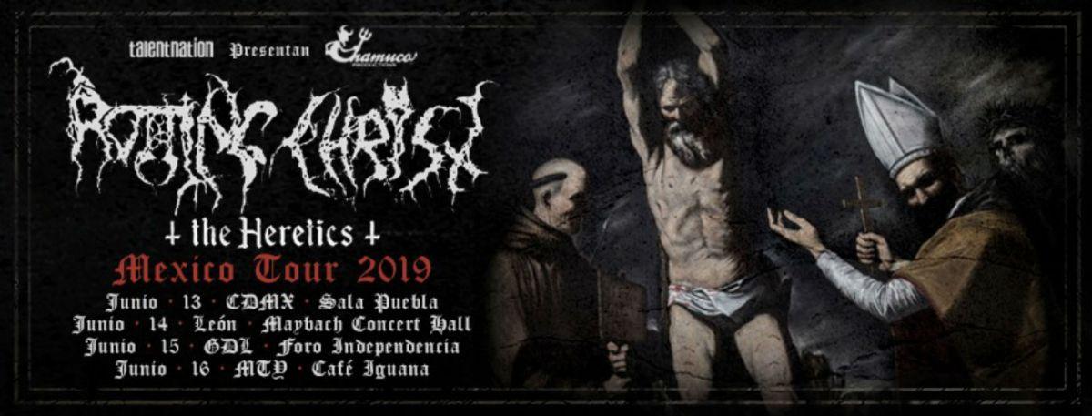 Rotting Christ gira Sla Puebla concierto boletos