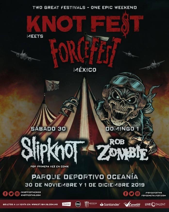 Slipknot Rob Zombie Knotfest meets ForceFest