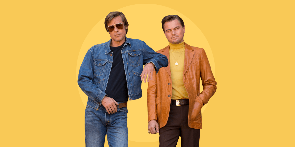 Quentin Tarantino Brad Pitt Once Upon a Time in Hollywood alfombra roja estreno