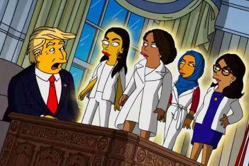Los Simpson Donald Trump West Side Story parodia