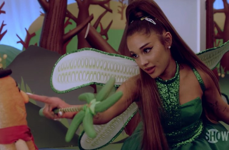 ariana grande kidding trailer jim carrey hada 2019