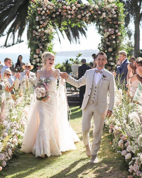 matt bellamy novia elle evans boda secreta foto instagram