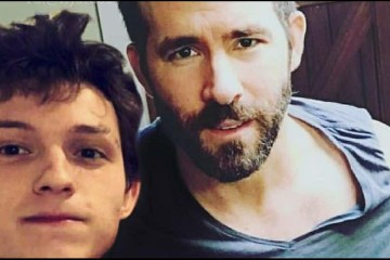 Ryan Reynolds y Tom Holland broma Instagram