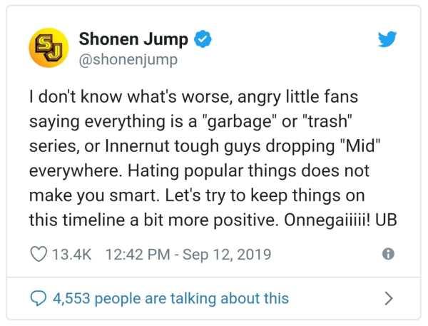 shonen-jump-oposicion-haters-twitter-anime