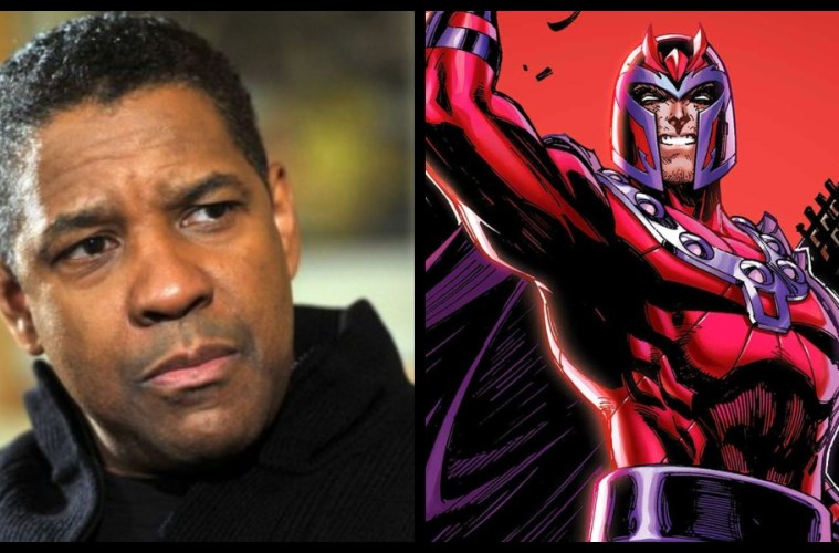 Denzel Washington nuevo Magneto
