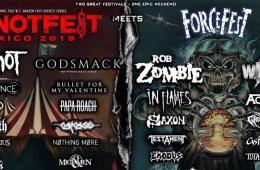 Slipknot, Godsmack, Rob Zombie y Wasp encabezan el primer Knotfest meets Forcefest México 2019
