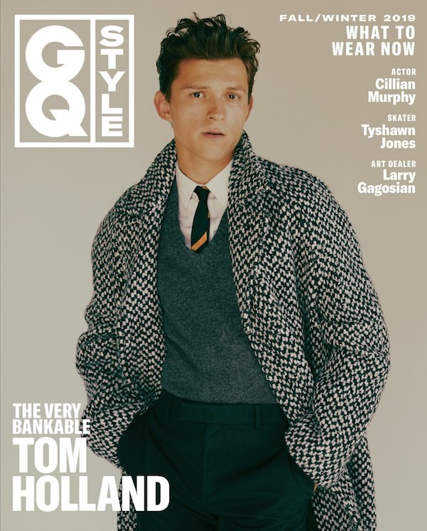 tom holland gq style fotos revista portada septiembre 2019