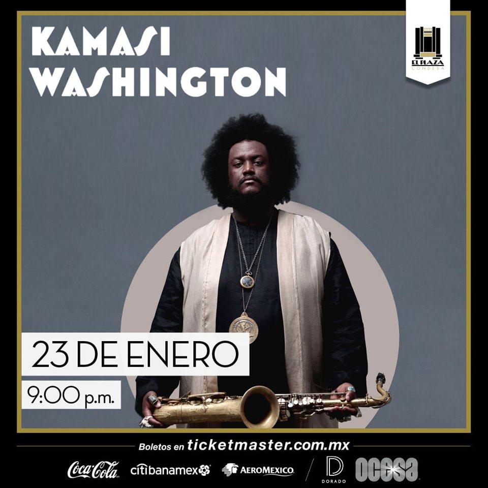 """Kamasi Washington regresa para presentar su disco """"Heaven and Earth"""" en El Plaza"""