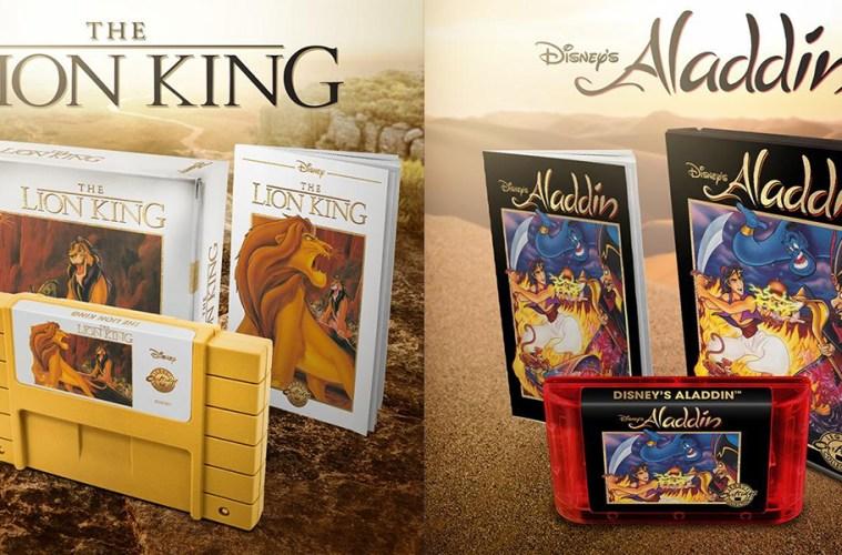 aladdin el rey leon nuevos juegos snes sega mega drive