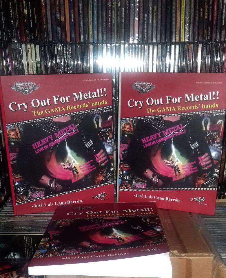 Cry Out for Metal, un libro para coleccionistas de metal ochentero
