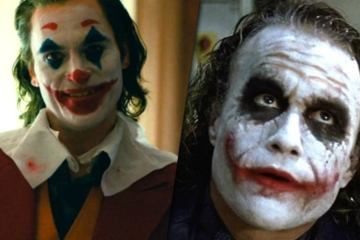 Joker homenaje a Heath Ledger Joaquin Phoenix