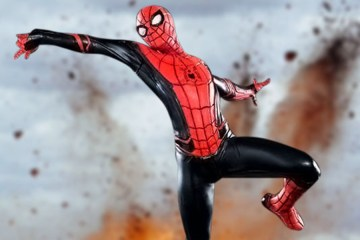 spider man far from home figura coleccionable iron studios