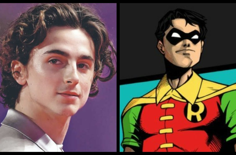 Timothée Chalamet Robin The Batman