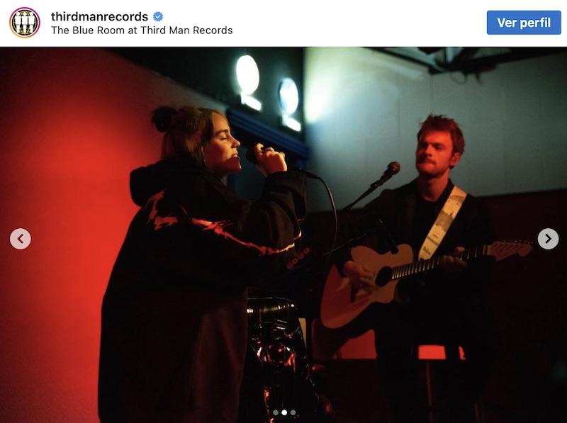 Billie Eilish nuevo disco Jack White third man records 2019