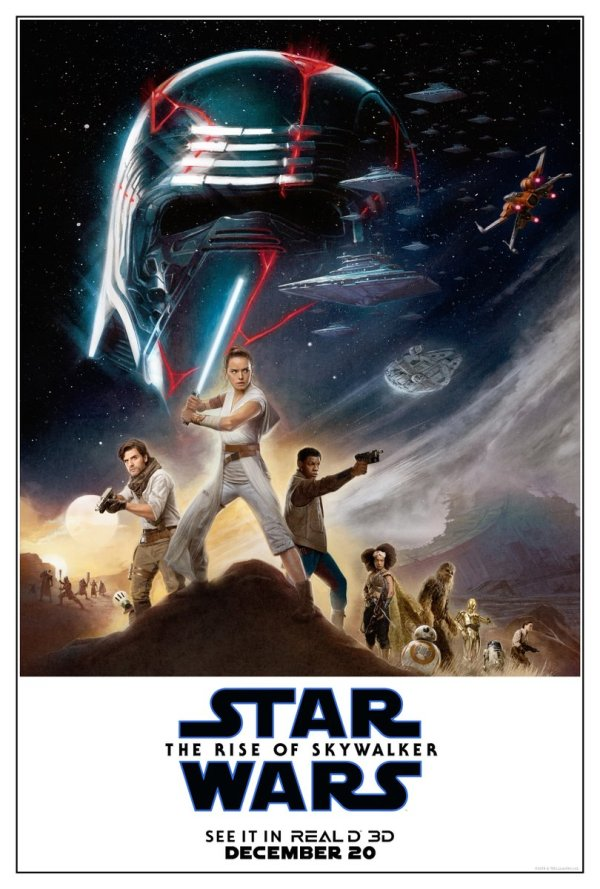 star wars the rise of skywalker nuevos posters imax