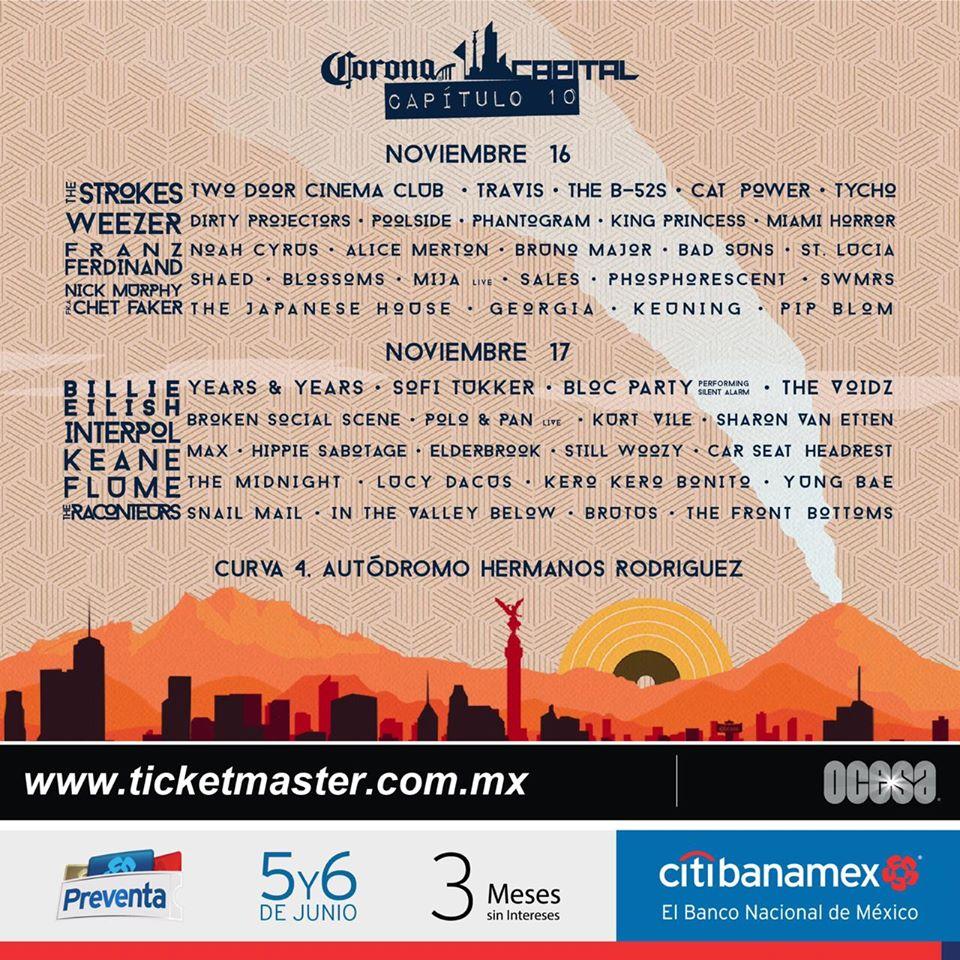 corona capital festival 2020 lineup