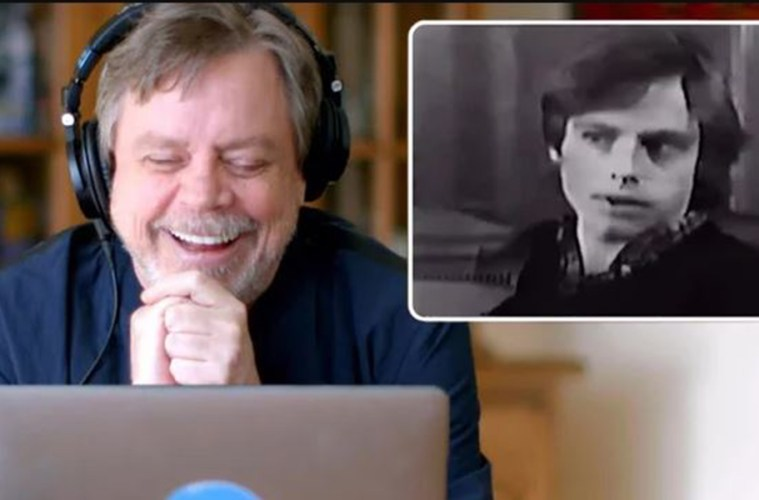 mark hamill reaccion audicion luke skywalker starwars 1976