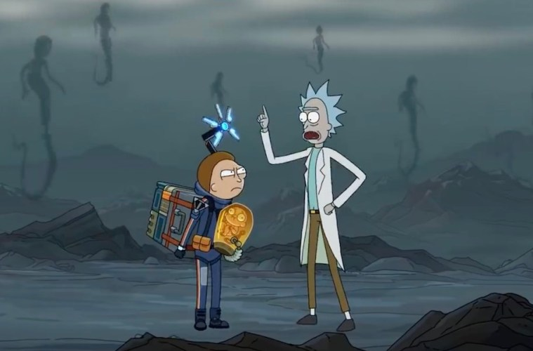 rick and morty death stranding video crossover 2019