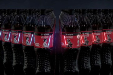 coca cola botellas the rise of skywalker singapur 2019