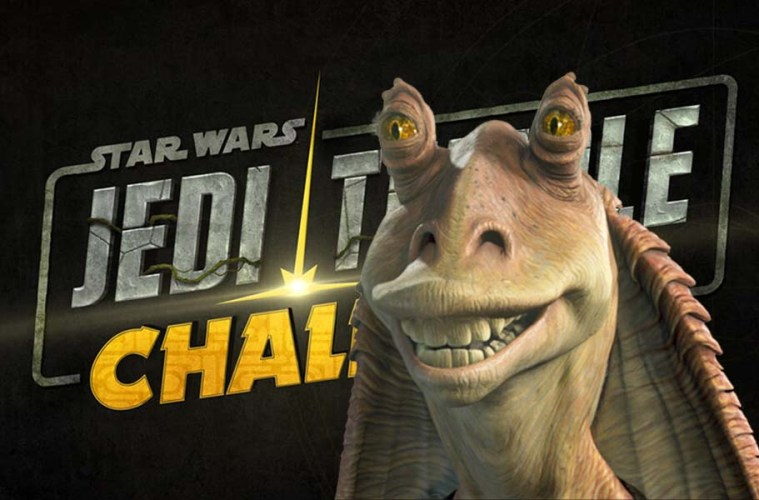 disney plus nuevo programa star wars jedi temple challenge jar jar binks