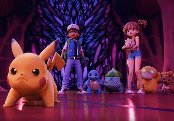 pokemon mewtwo strikes back nueva pelicula animacion digital netflix 2020