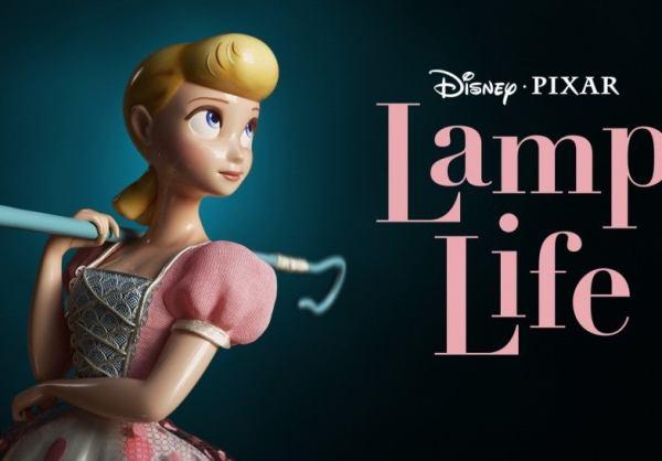 lamp life nuevo corto animado disney plus bo peep toy story pixar