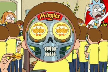 rick and morty nuevo comercial pringles summer super bowl