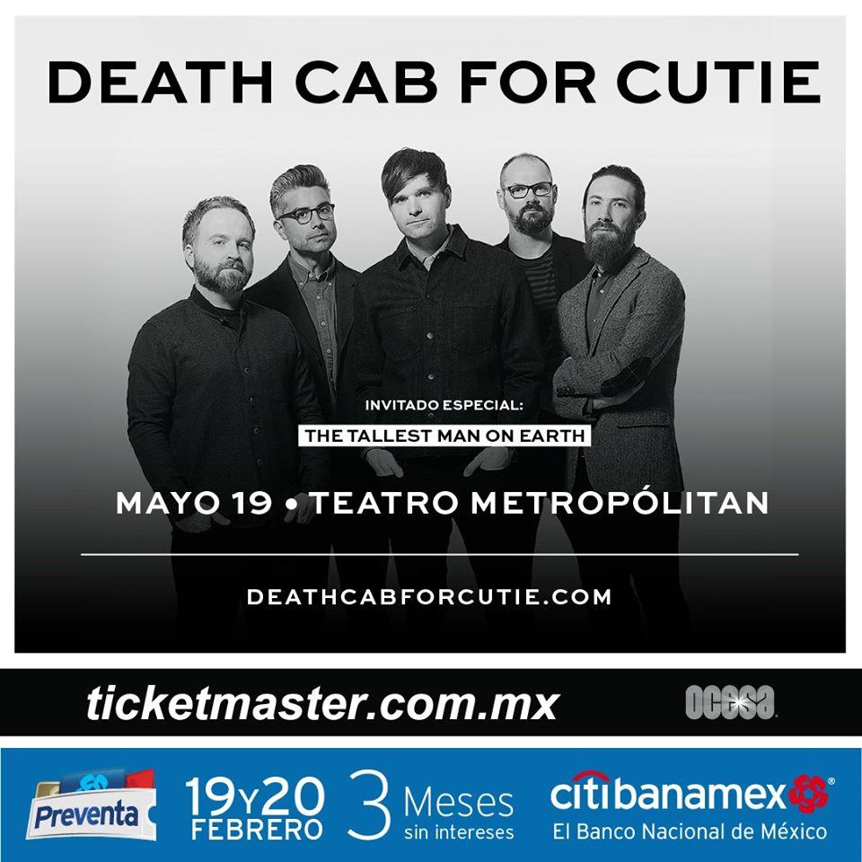 death-cab-for-cutie-concierto-cdmx-2020