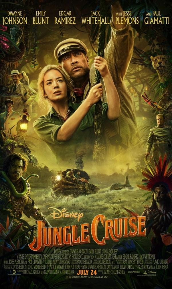 jungle cruise nuevo trailer emily blunt the rock disney