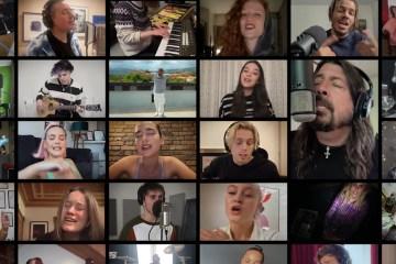 Famosos cantan 'Times Like These' de Foo Fighters por una buena causa