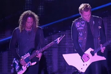 Metallica libera un concierto tocando completo The Black Album en Austria