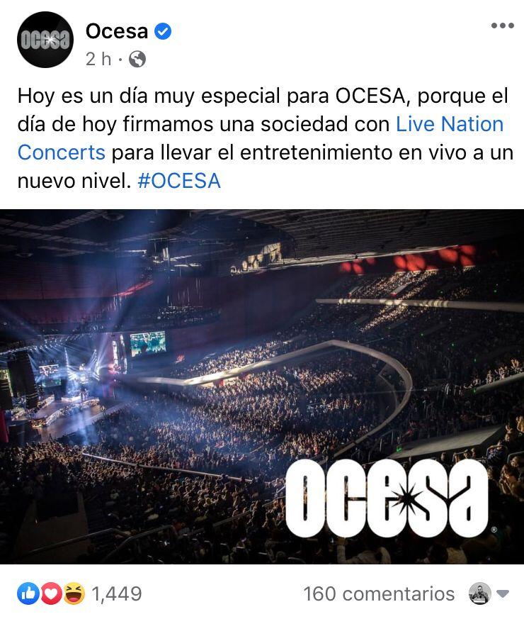 OCESA Corona Capital 2021