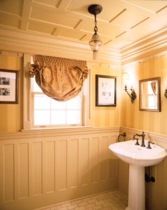 Wainscoting in Bathrooms