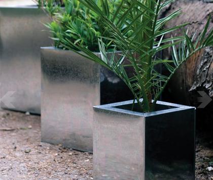 Garden Trend: Zinc Planters