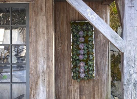 Vertical Zinc Wall Planter