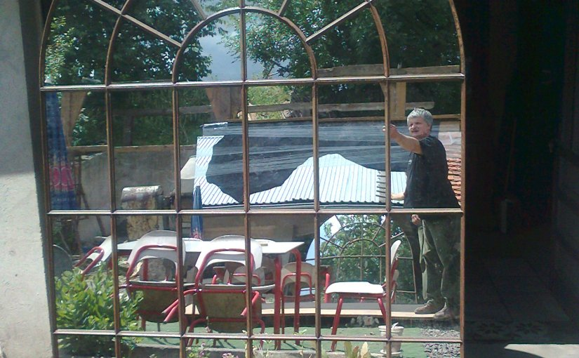 A Fanciful Find – The European Factory Mirror