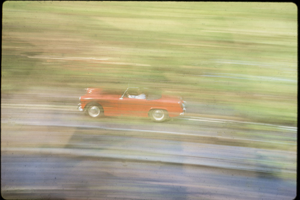 Vintage Red sportscar