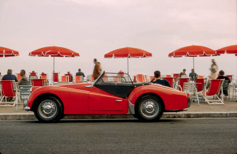 TR-3, sports car,