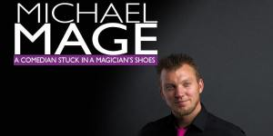 Michael Mage, Magician/Comedian @ Shelby Community and Senior Center