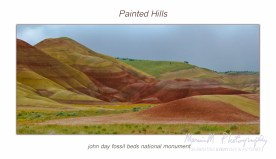 Painted Hills; John Day Fossil Beds National Monument