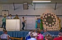 Quilts being sold for Haiti Benefit; Shipshewana, Indiana
