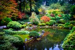 Clasic Japanese garden; Said to be one of nicest in world outside Japan.