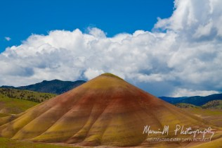 John Day Fossil Beds National Monument. We were enamored with the huge display of vivid color