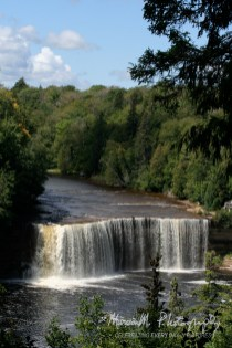 Tahquamenon Falls; Tahquamenon Falls State Park. South and west of Whitefish Point