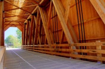 Chambers Railroad Bridge interior