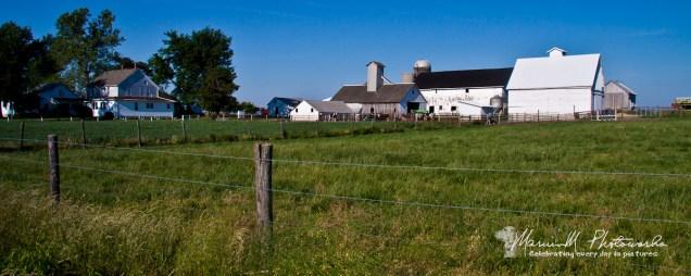 Farm scene arcola Illinois