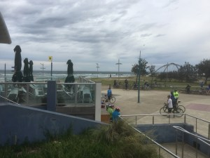 Frankston Beach from the Visitor Centre