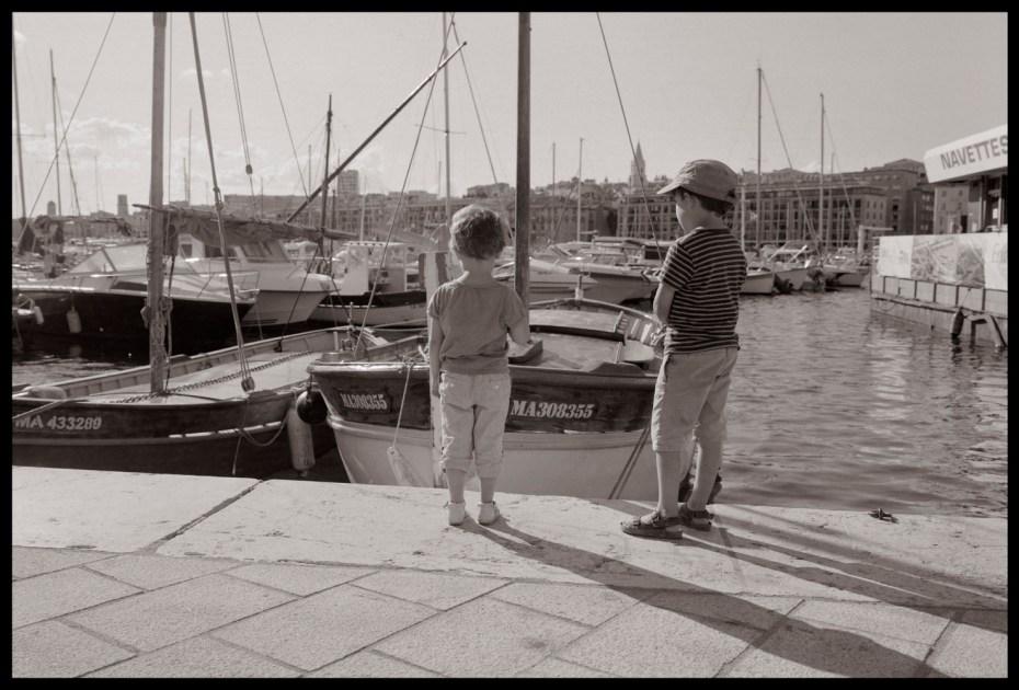 Le vieux port, Marseille.